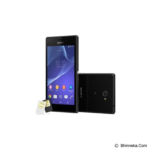 SONY Xperia M2 Dual [D2302] - Black - Smart Phone Android